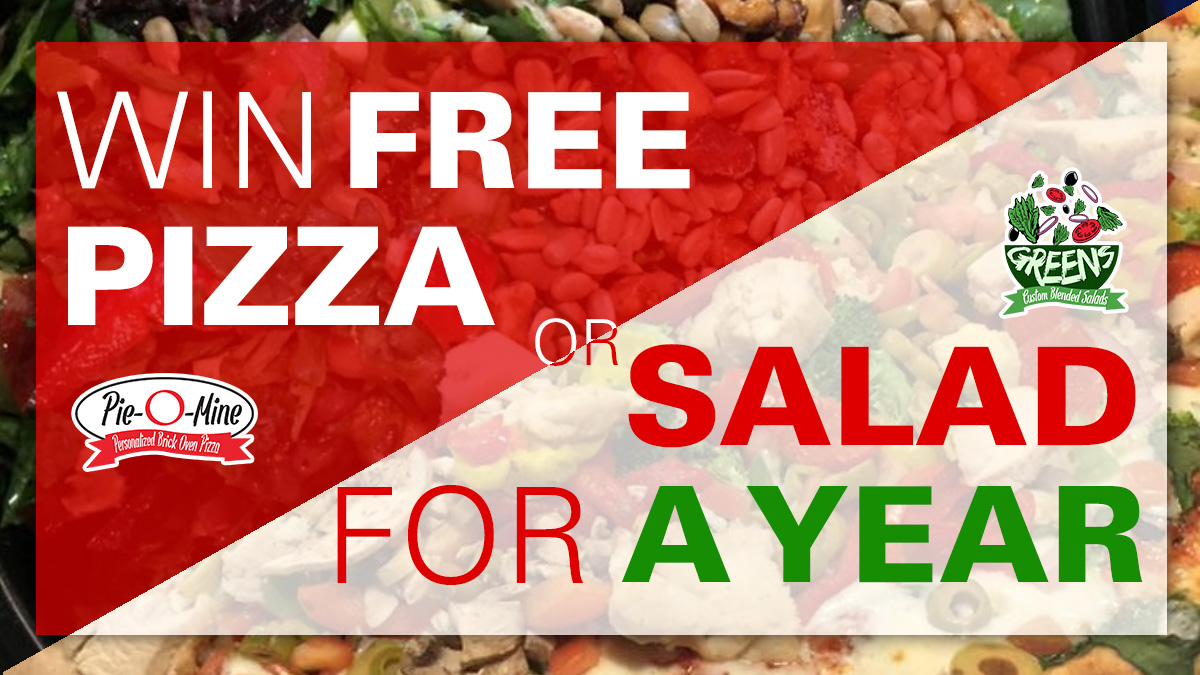Read more about the article What Would You Do For Free Pizza and Salad for a Year?